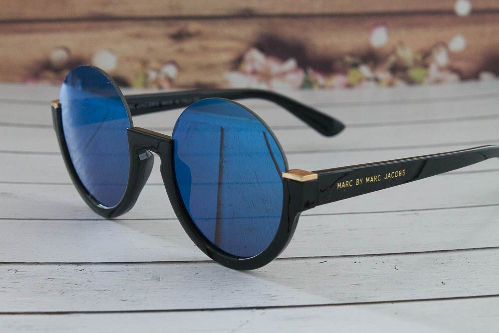 Купить Солнцезащитные зеркальные очки Marc by Marc Jacobs в оригинальной оправе (бренд ) в интернет-магазине todalamoda