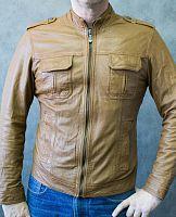 fa9662e71f5 Мужская кожаная куртка edc division в интернет-магазине todalamoda