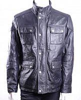 dd4125c4728 Куртка мужская кожаная Manguun в интернет-магазине todalamoda